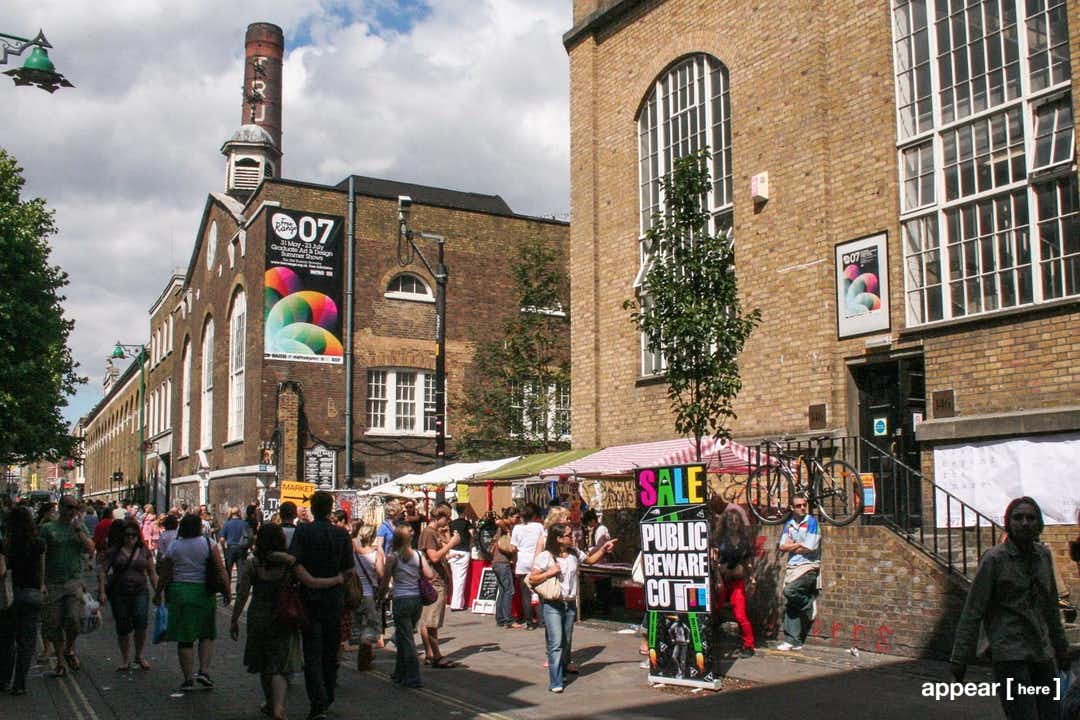 Old Truman Brewery 4 Day Market