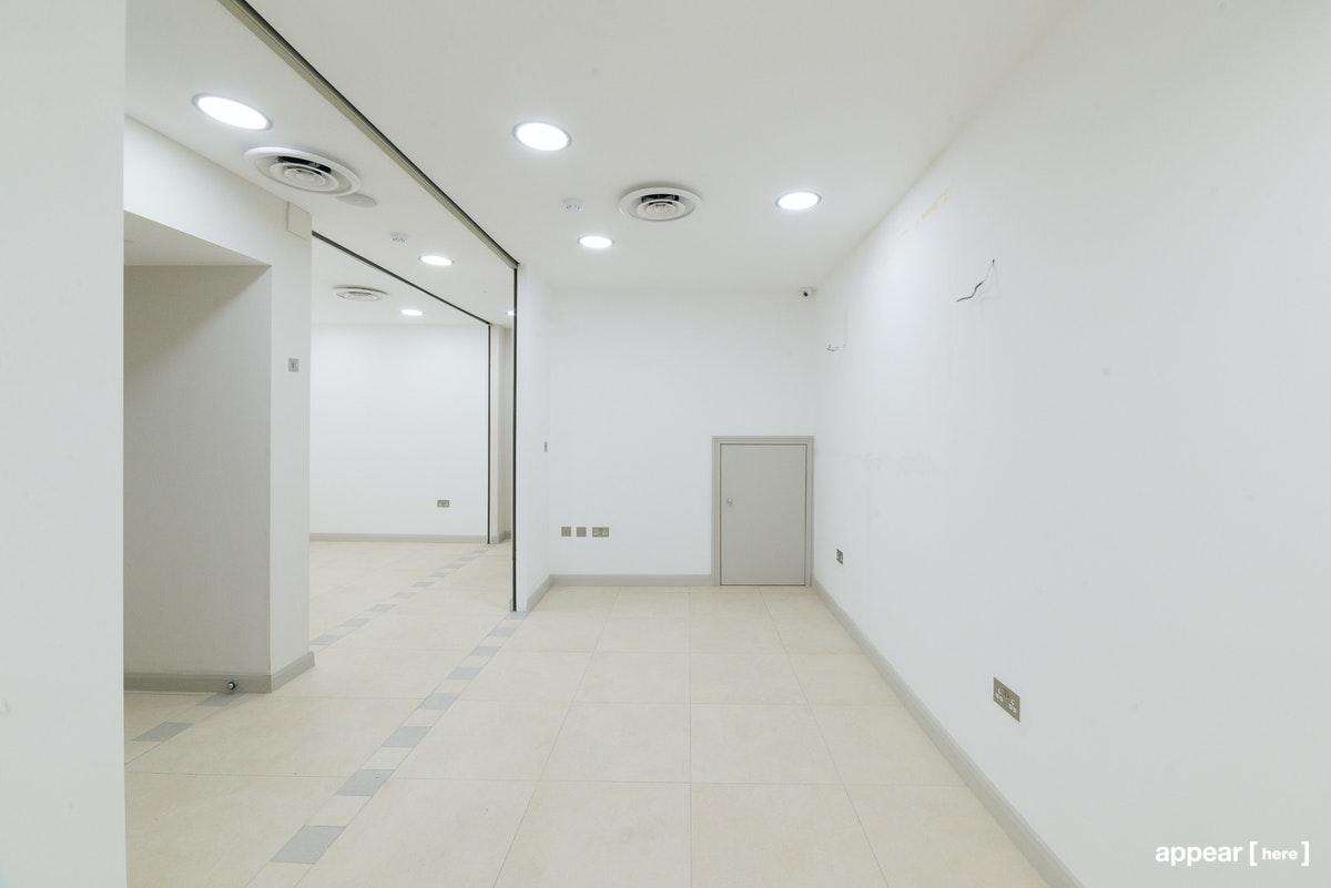 Kilburn Plaza - large space interior