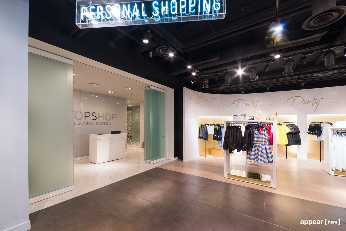 Js Auto Manchester >> Rent a space | Topshop Oxford Circus – Personal Shopping Event Space | Pop up shops, showrooms ...