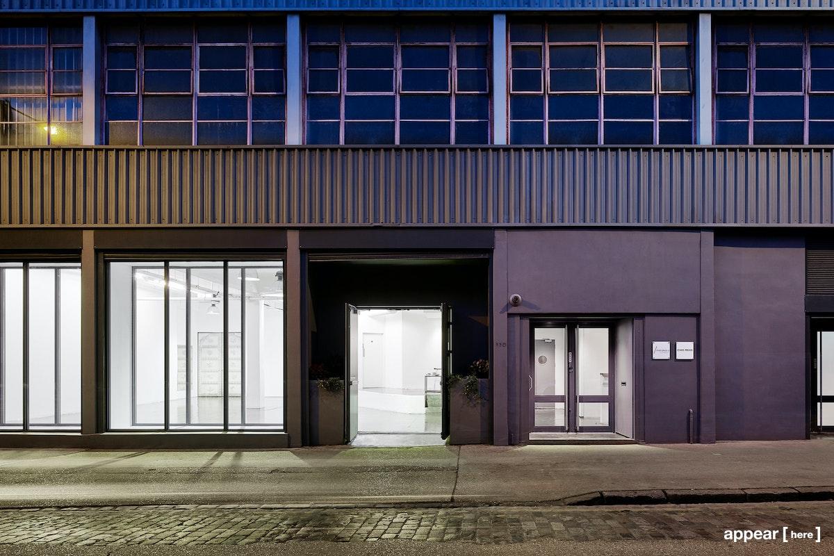 Pennington Street Studio exterior - street view