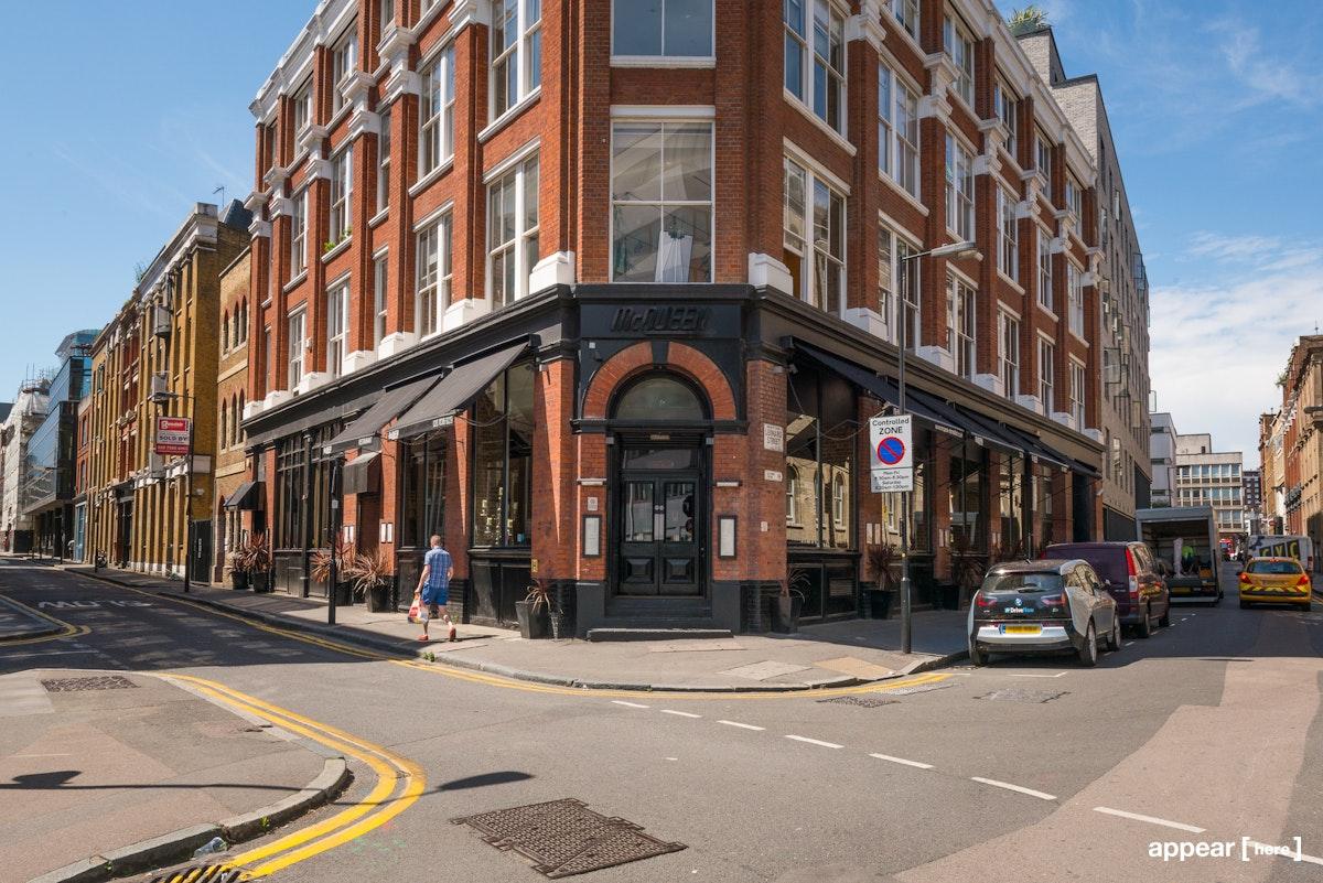 Tabernacle Street Bar - exterior street view