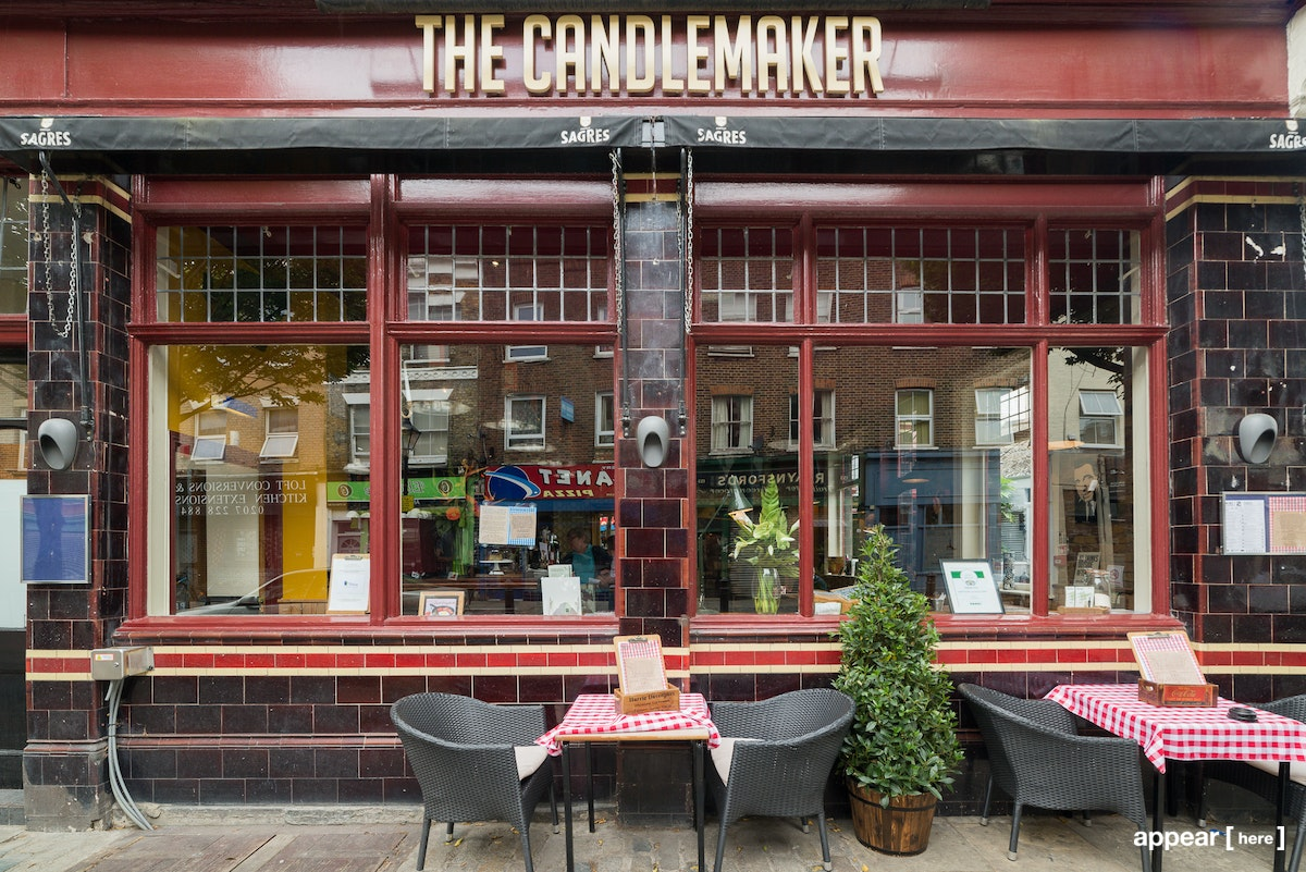 The Candlemaker pub exterior
