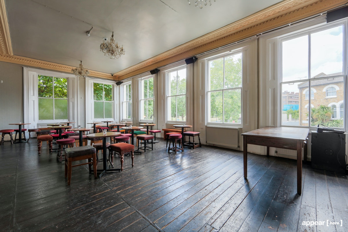 The People's Park Tavern - upstairs function room