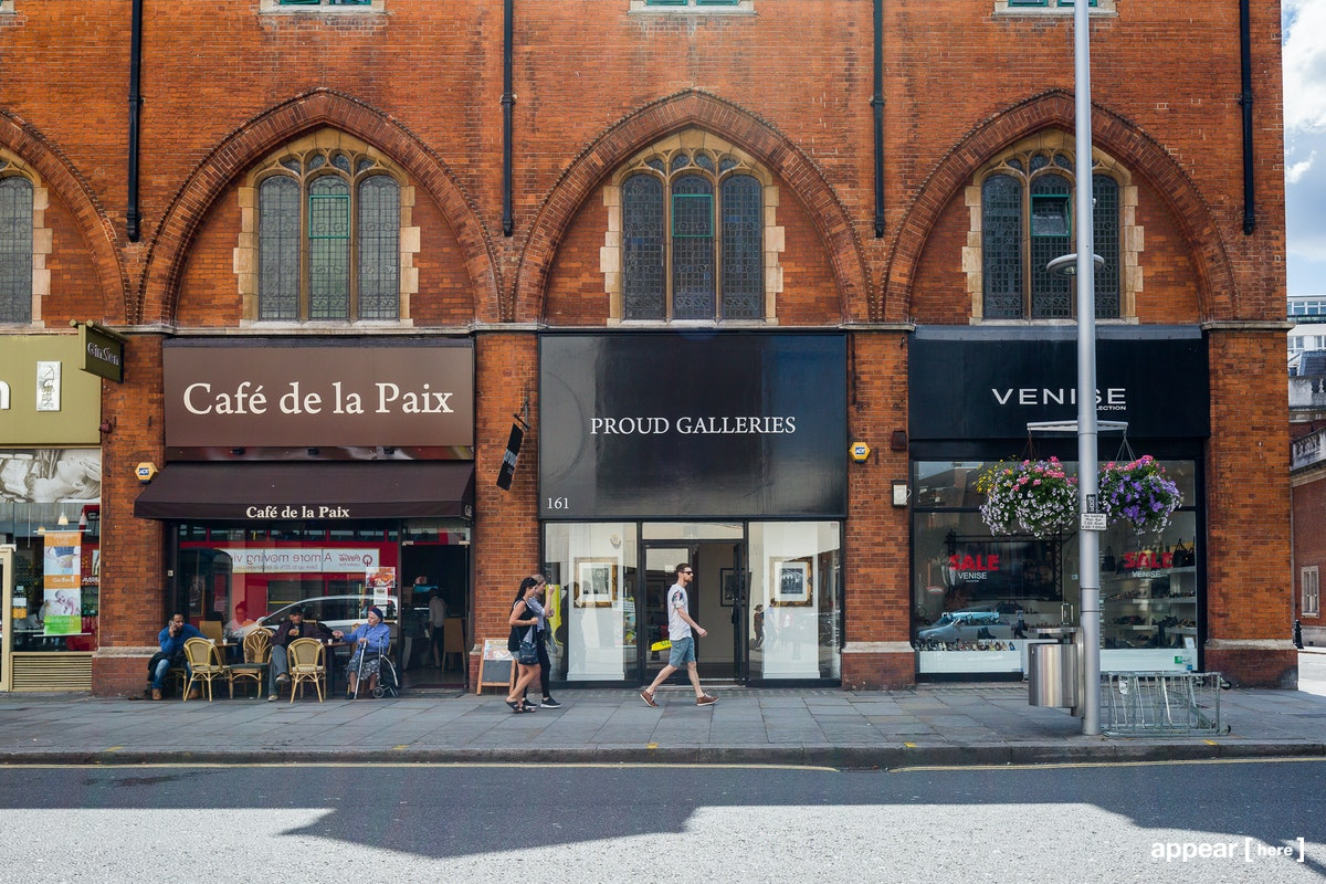 Proud Gallery - exterior street view