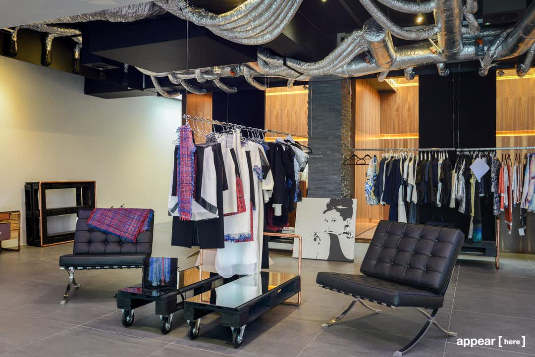 The Showroom Presents - retail concession space