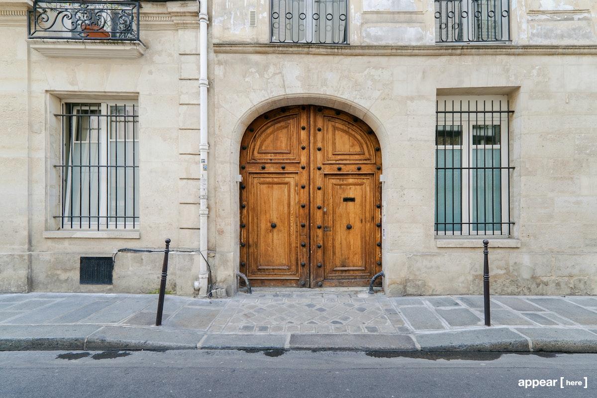 Portefoin, Haut Marais, Paris - exterieure