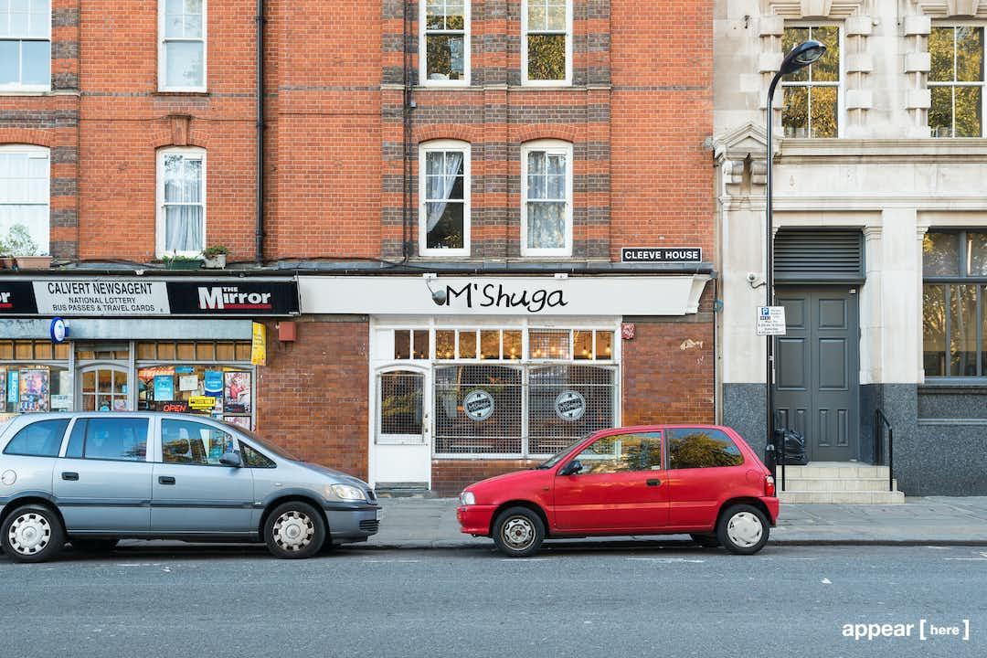 Calvert Avenue Cafe - shopfront exterior
