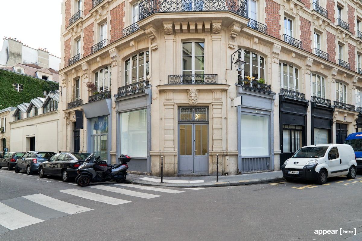 Boutique d'angle - Musée Picasso - extérieur