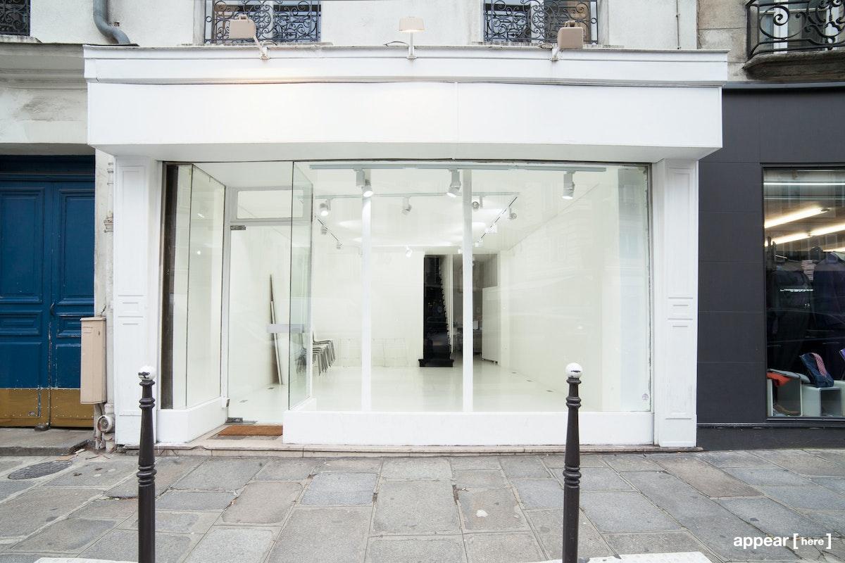 Boutique / Showroom - Turenne - extérieur