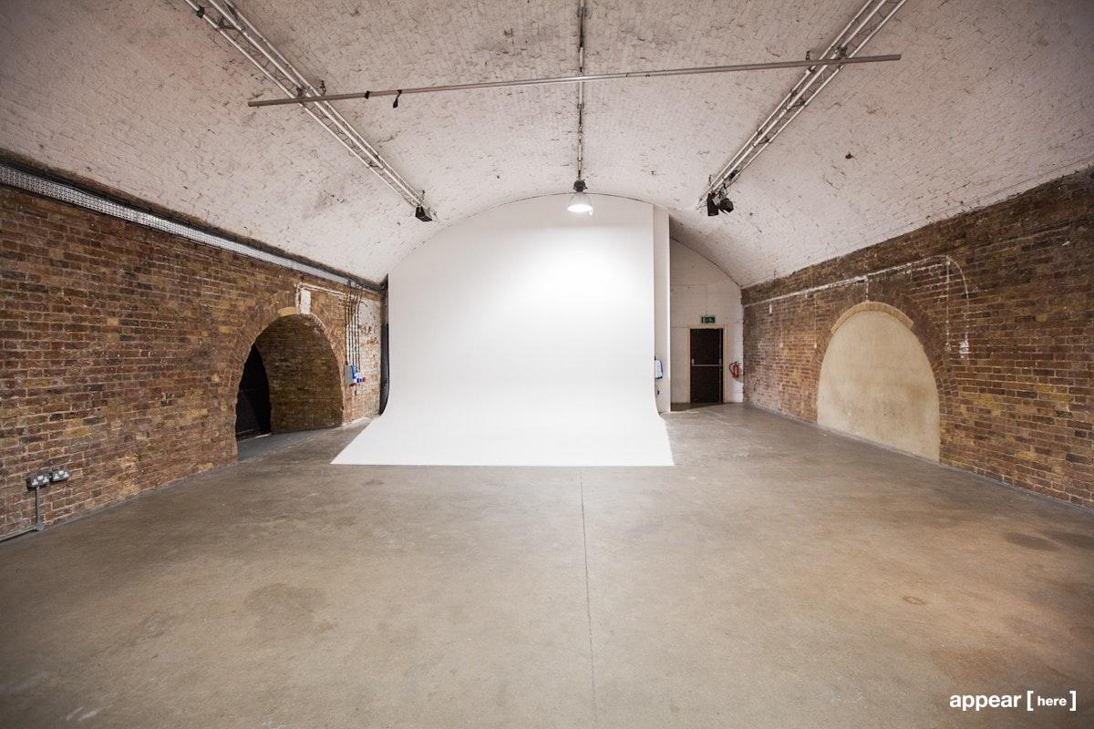 Shoreditch Arches - interior