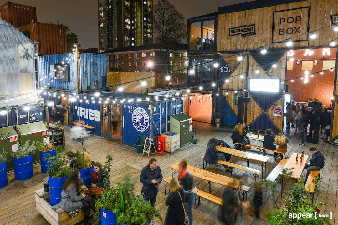 Pop Brixton Christmas Market