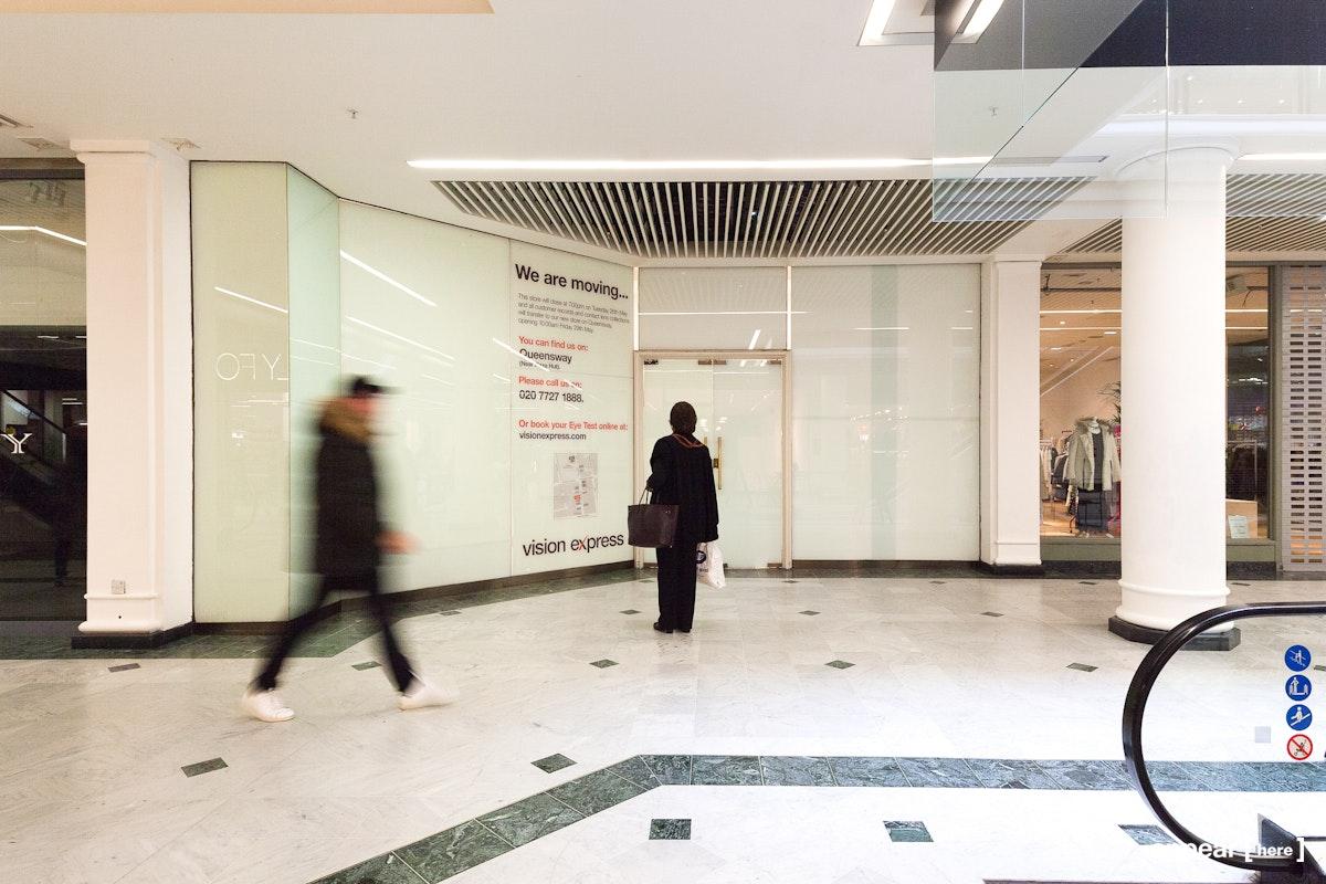 Whiteleys Shopping Centre - Unit 32 - exterior