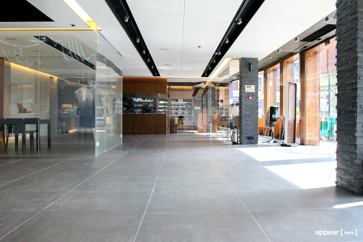 The Showroom Presents - interior