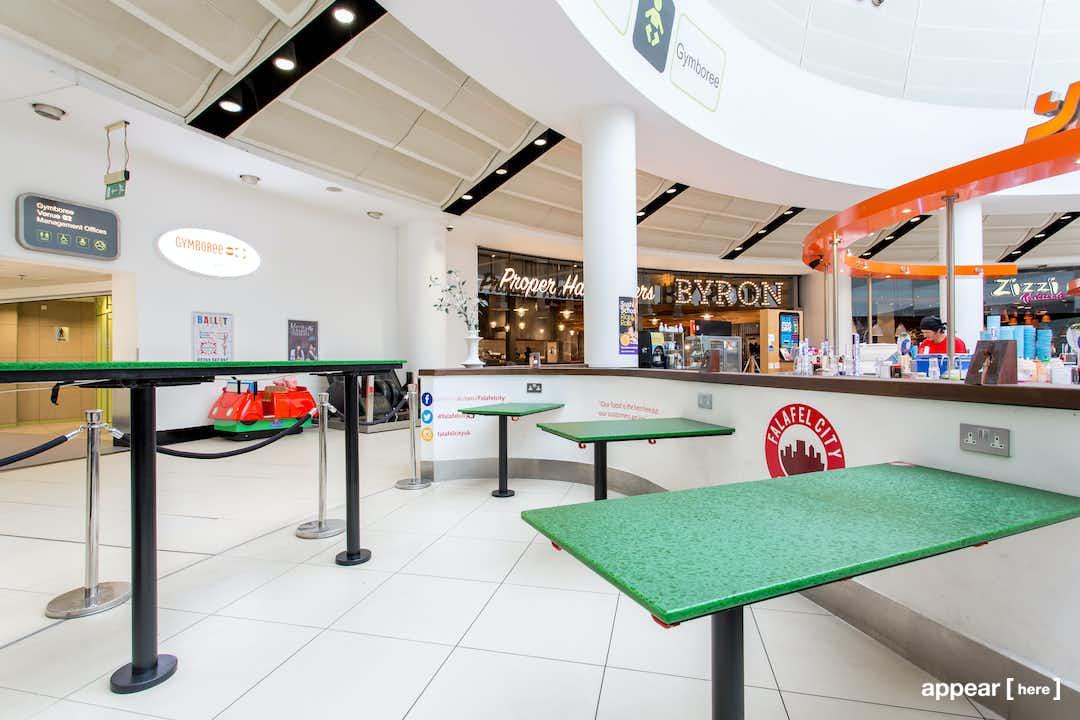 The O2 Centre NW3 - Upper Level Kiosk , London