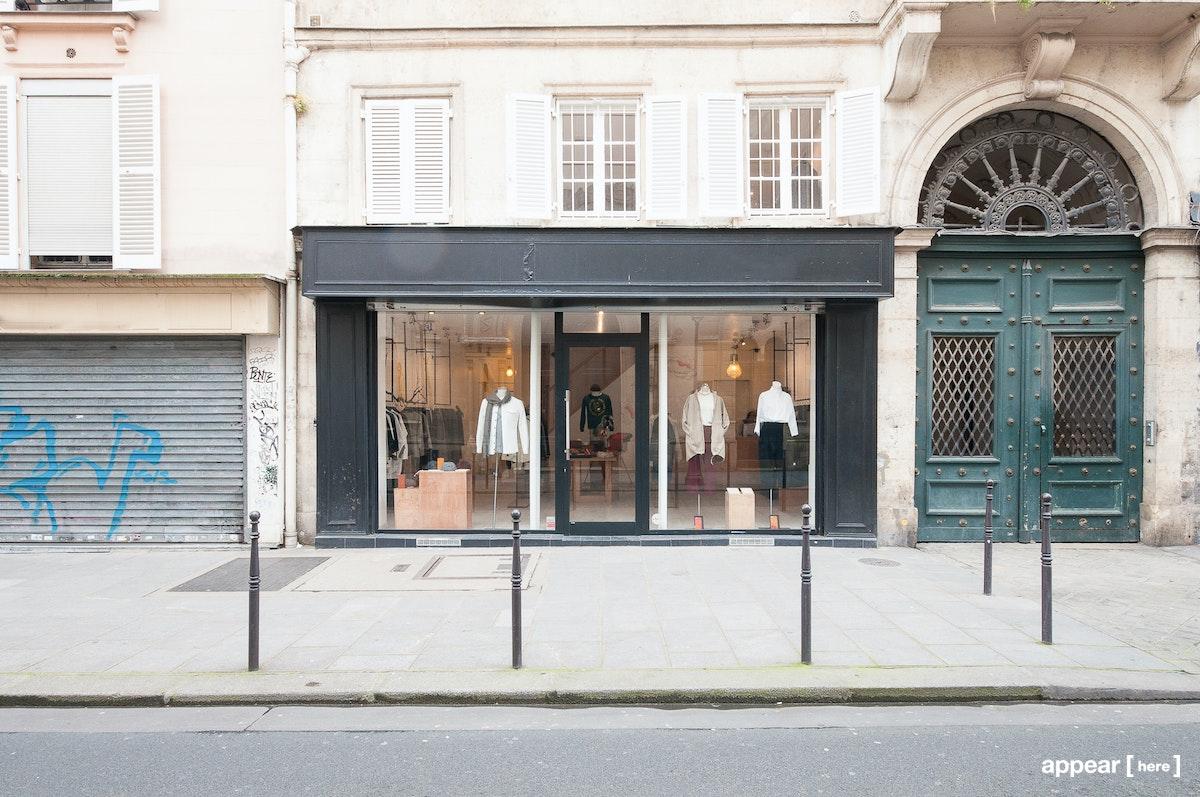 Boutique à partager République, exterior