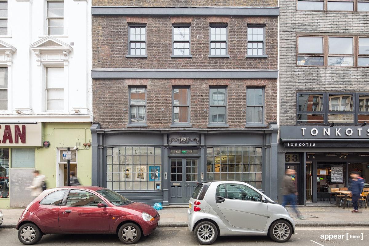 62 Dean Street, exterior