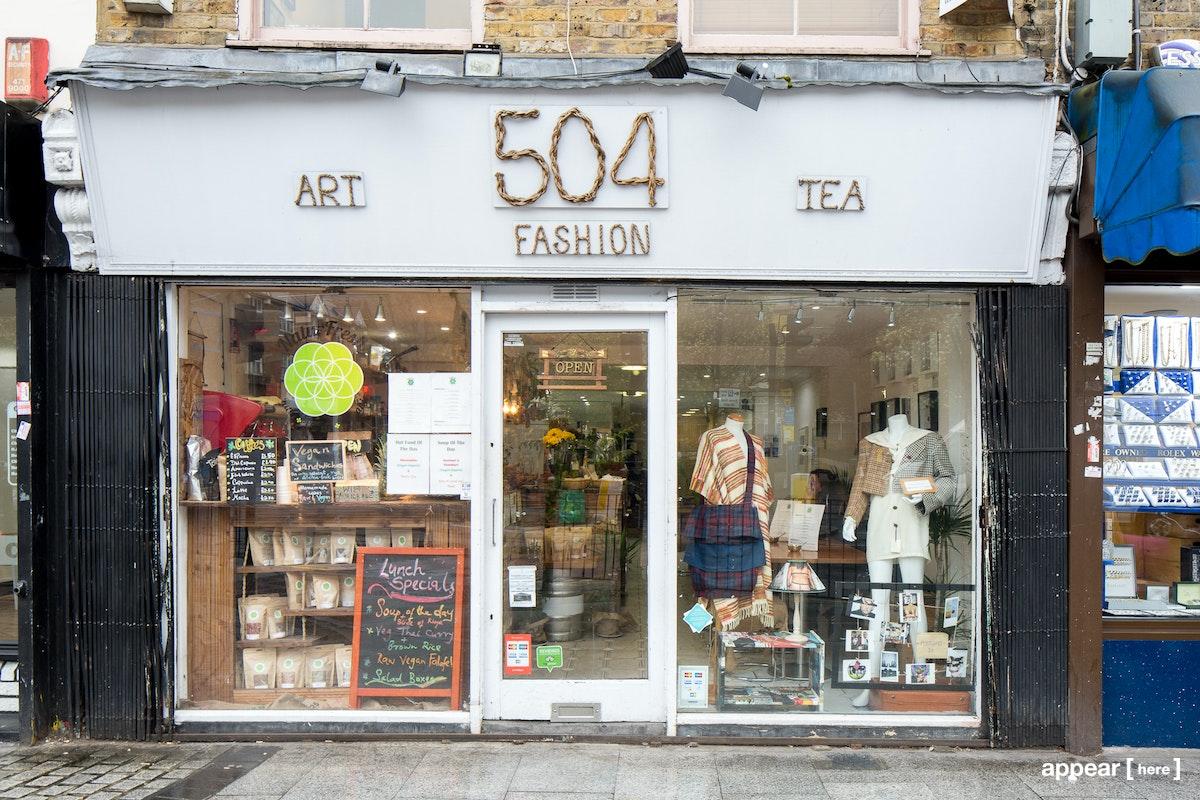 504 Roman Road - Full shop exterior