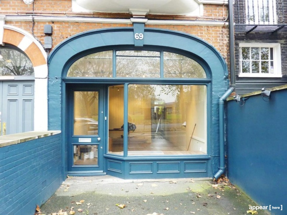 Exterior from New Kings Road