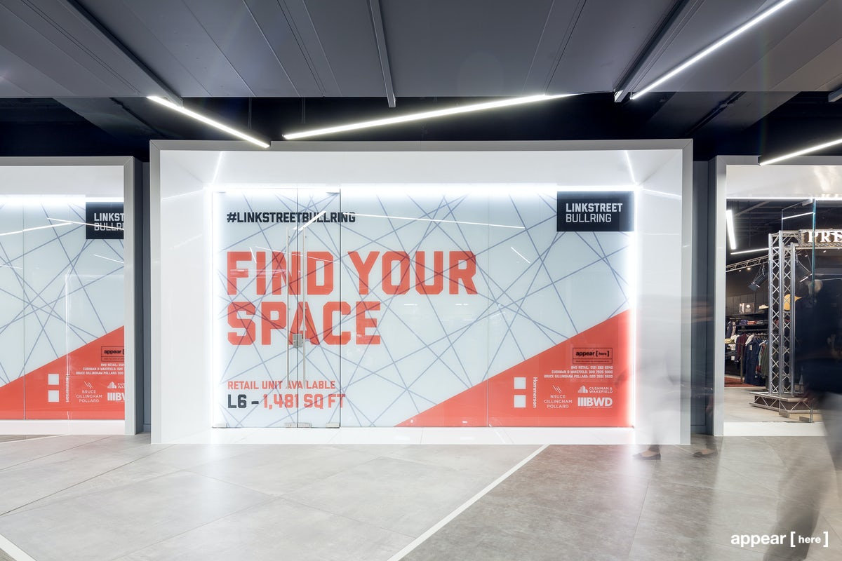 Bullring  LinkStreet – Retail Unit L6