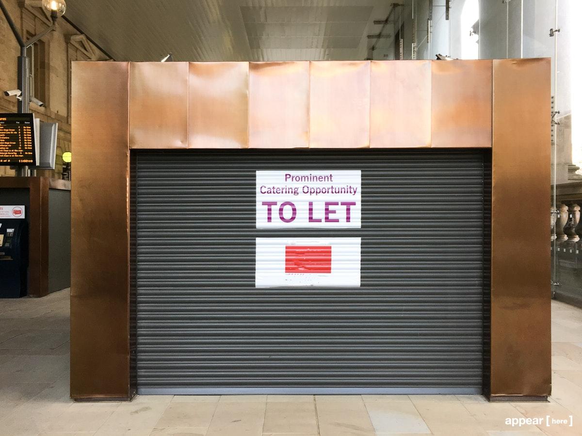 Newcastle Central Station – Kiosk