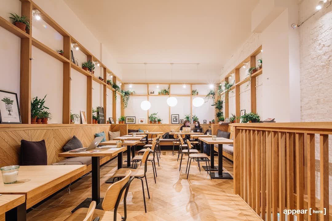 Wall Space, Good & Proper Tea Clerkenwell shop share