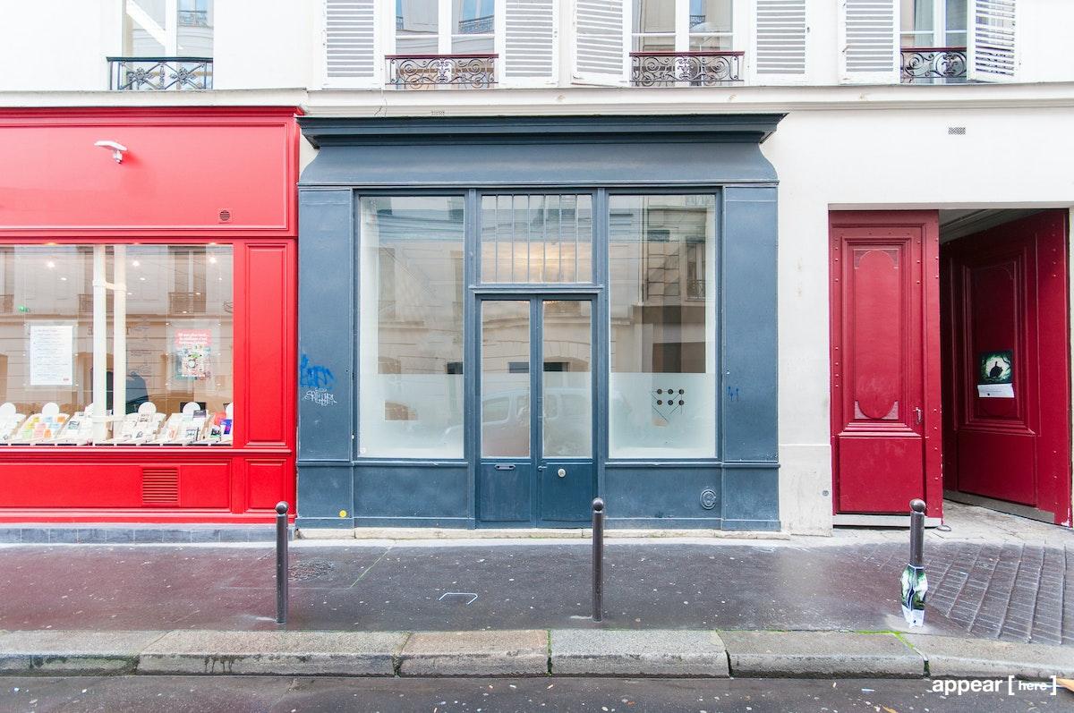 Trendy Parisian boutique