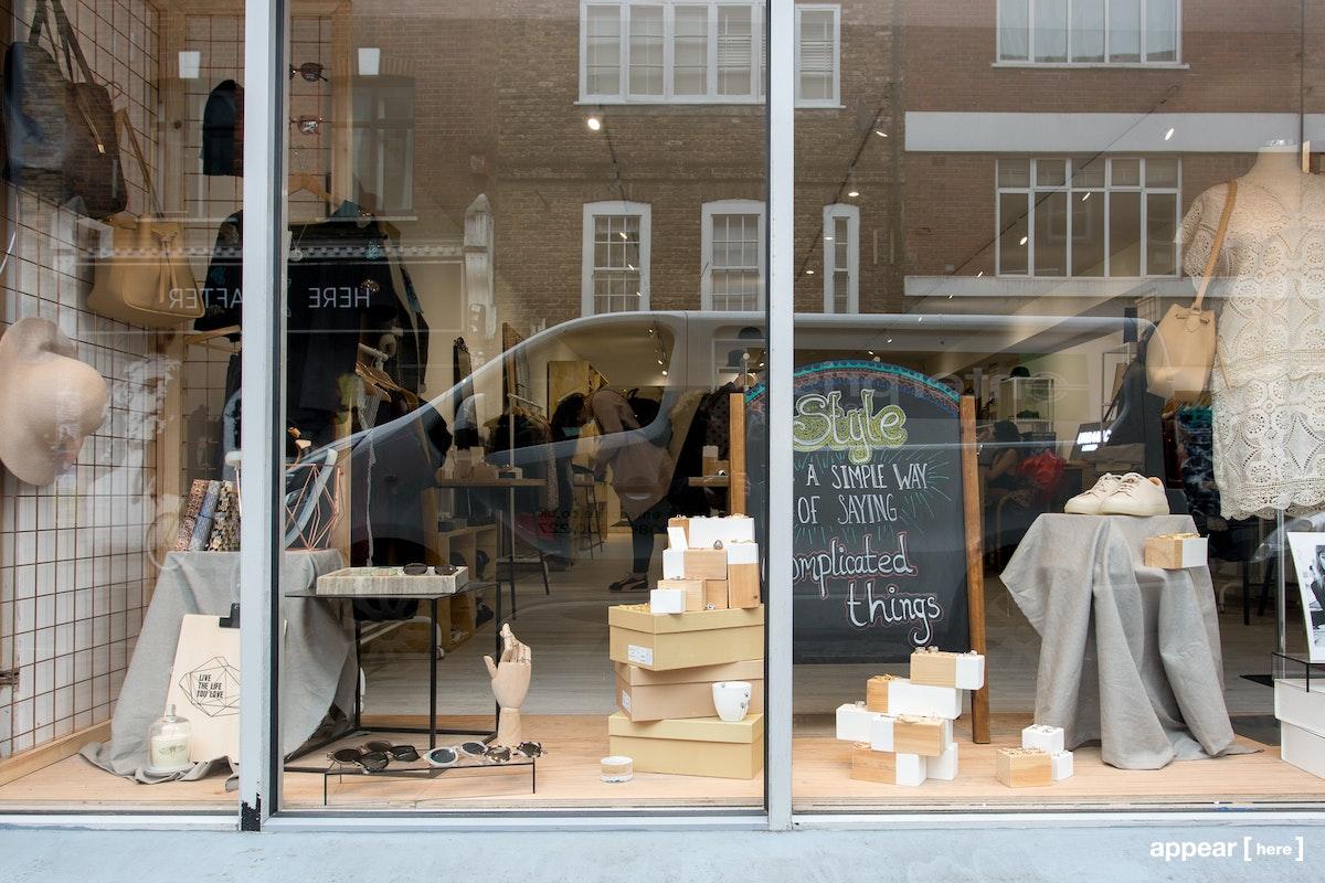 206 Brick Lane Window Space, London
