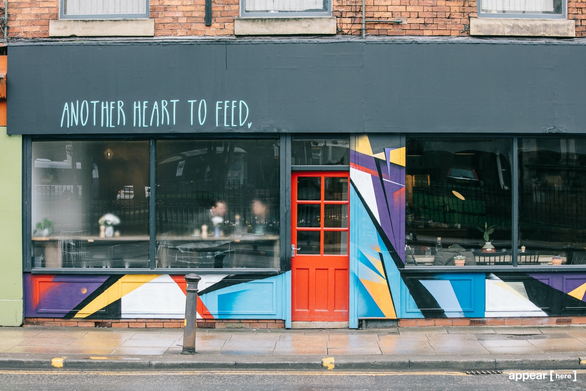 Chapel Street Flexible Space, Manchester - cafe interior
