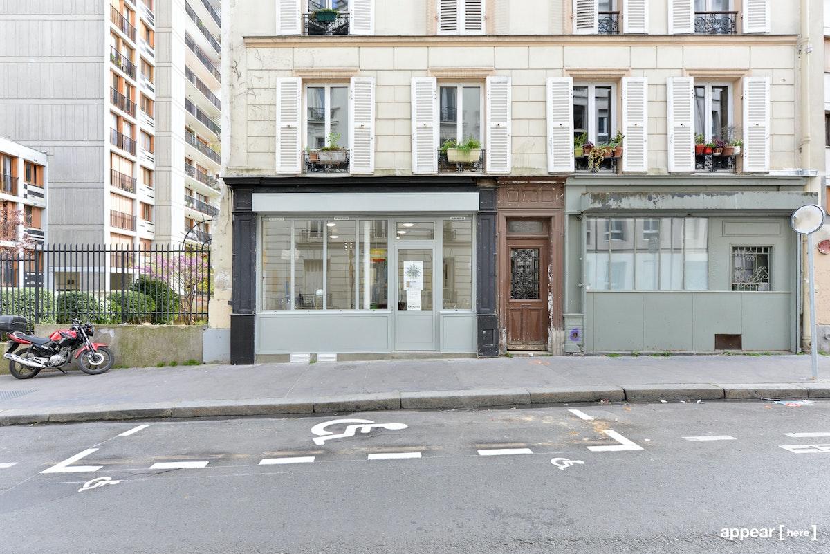 36 rue des envierges, Belleville, Paris, 20e
