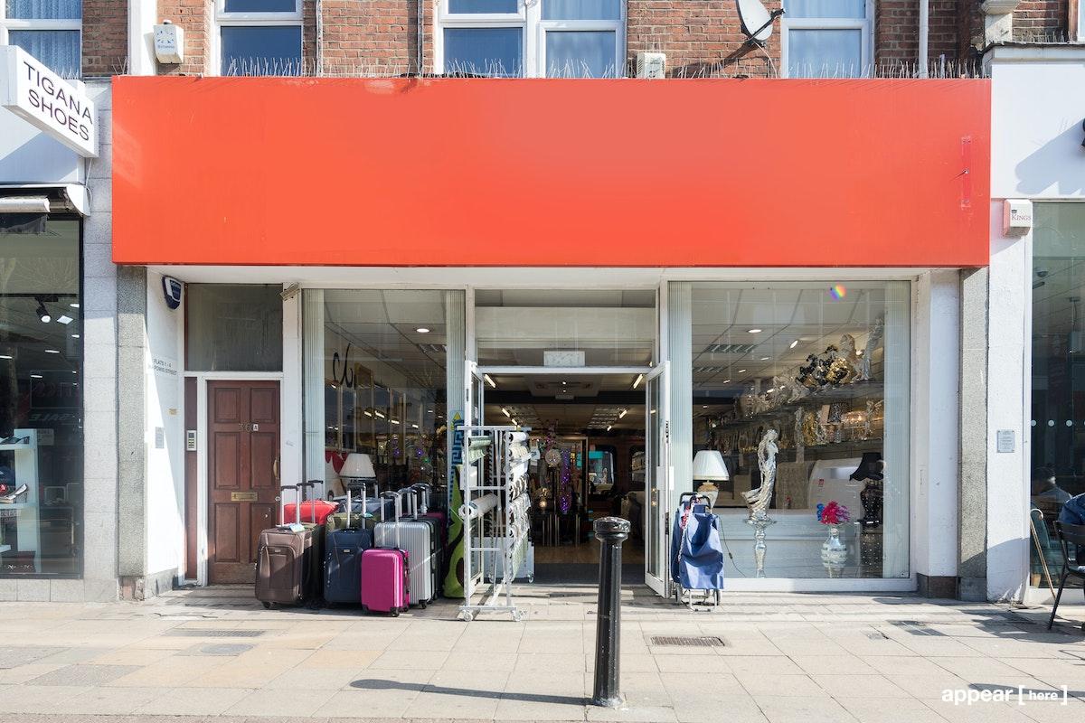 Powis Street, Woolwich - Former Furniture Store