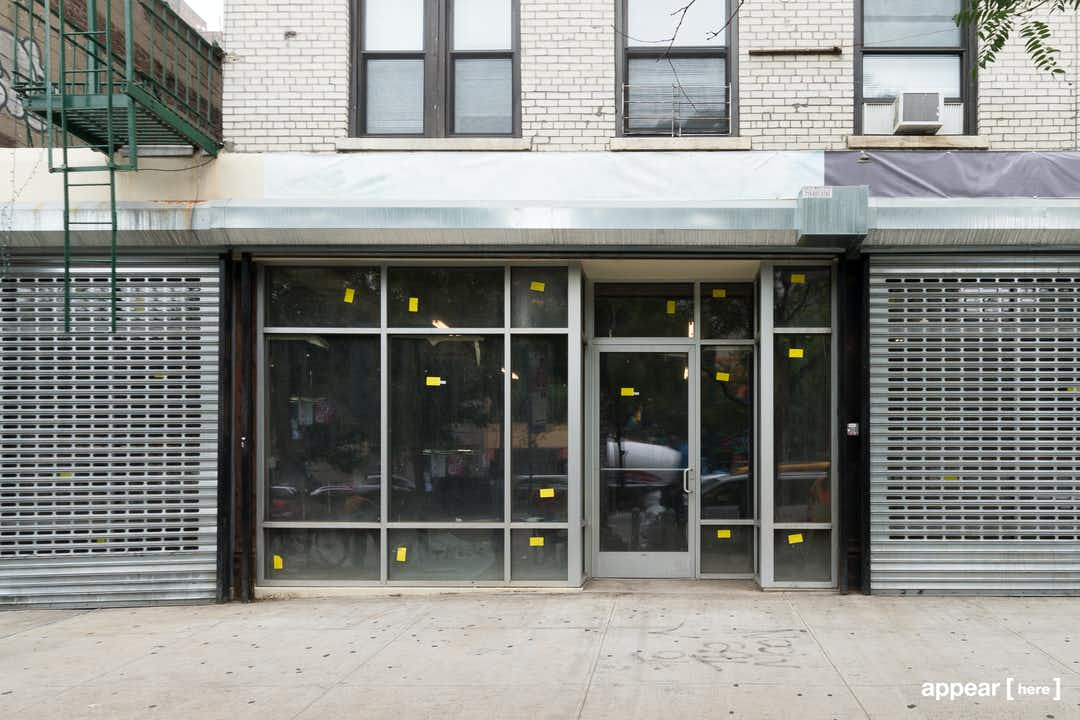 Delancey Street - Industrial Feel Retail Space