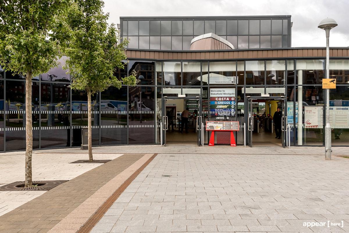 Wakefield Station - Forecourt, Wakefield