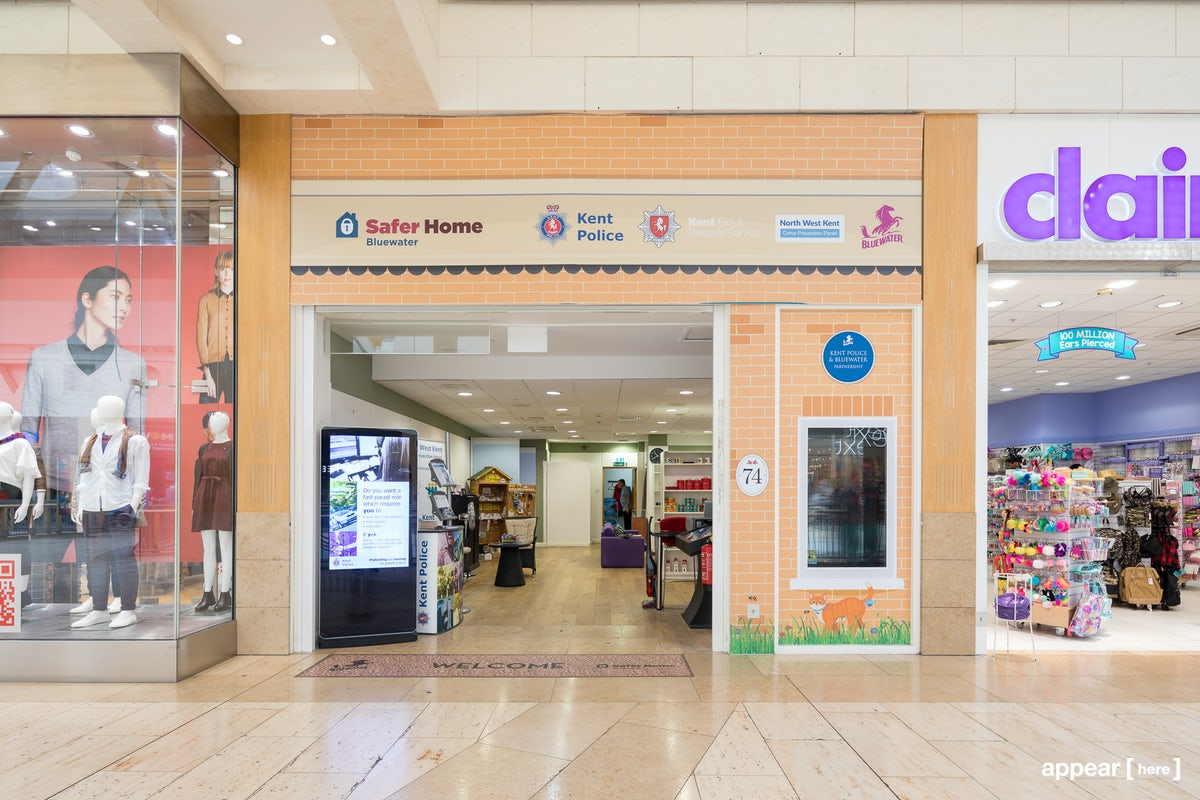 Rent A Space Bluewater Shopping Centre Kent Upper