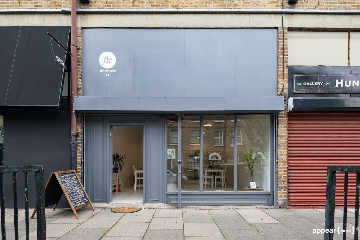 Retail/cafe space 11 Pearson St, , London