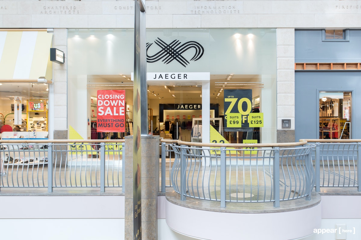 Unit 104B Guildwater Arcade Bluewater, Kent