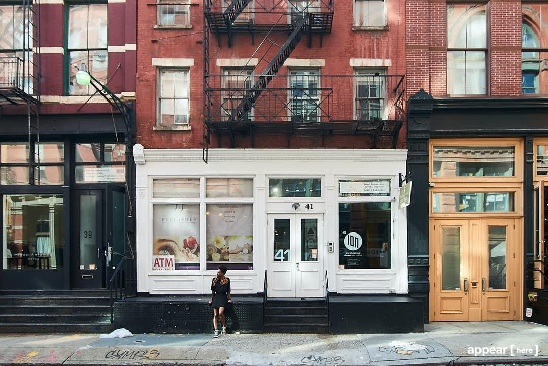 Wooster Street store front
