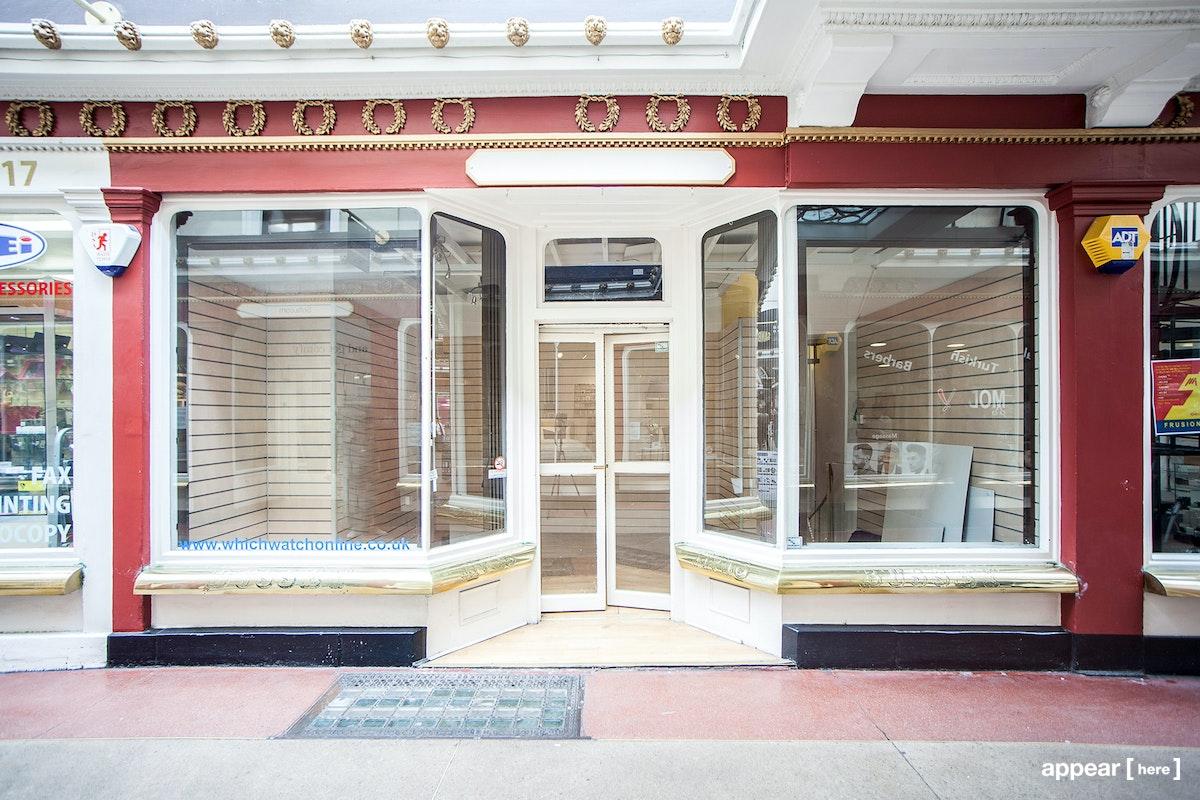 Pop up shop to rent in The Corridor Bath