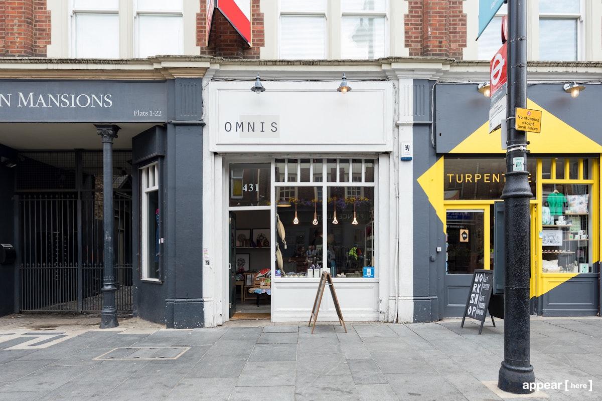 Coldharbour Lane shop front