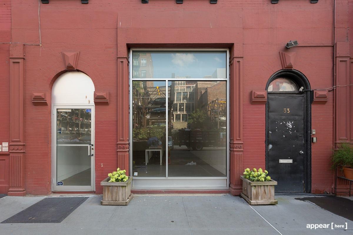 retail facade new york
