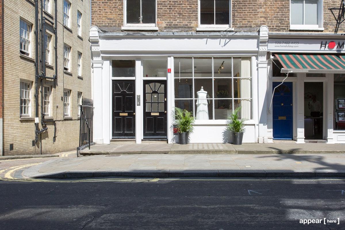 32 Seymour Pl,, London, marylebone shop