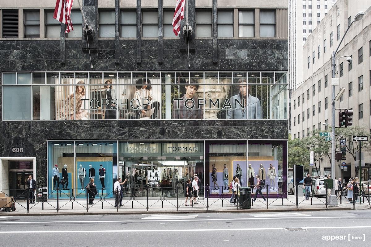 Topshop 5th Avenue - Pop-Up Space