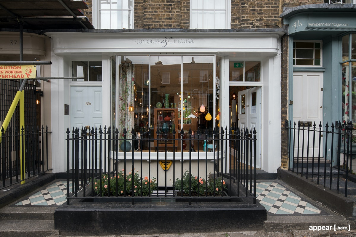 Amwell Street White Boutique, Clerkenwell