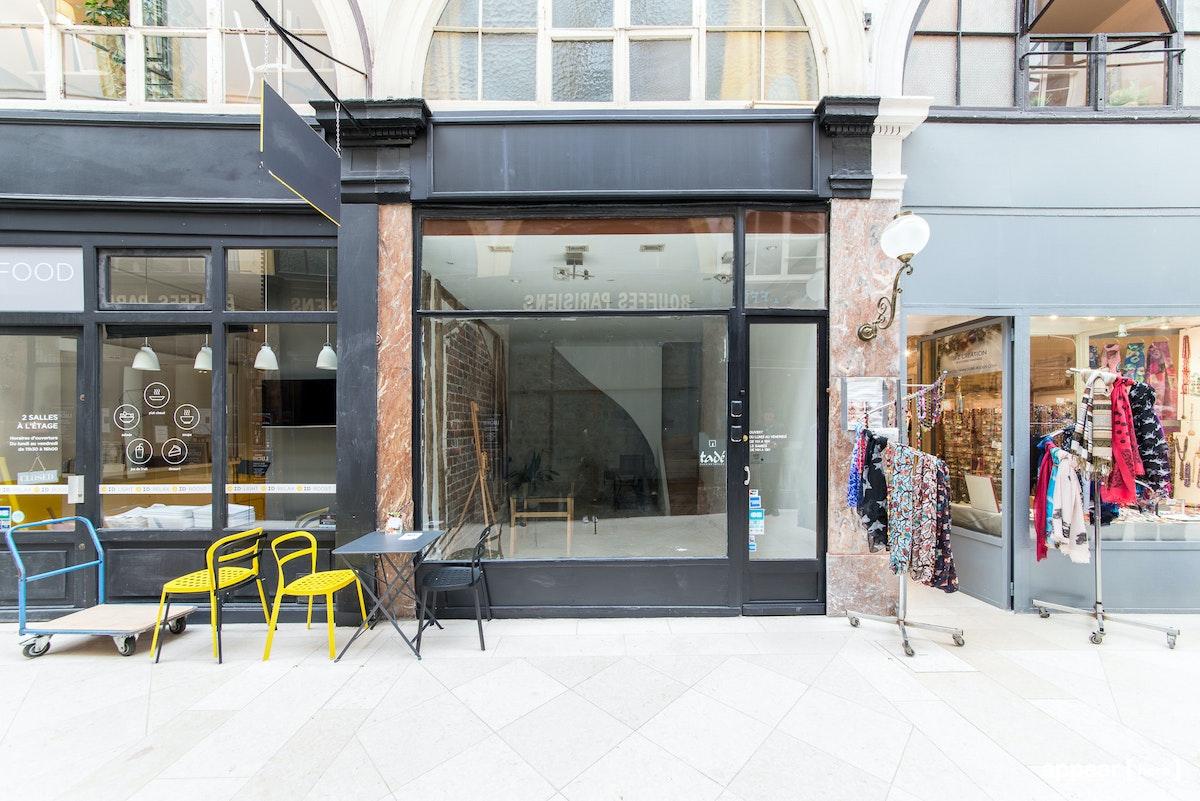 Boutique en briques - Passage Choiseul