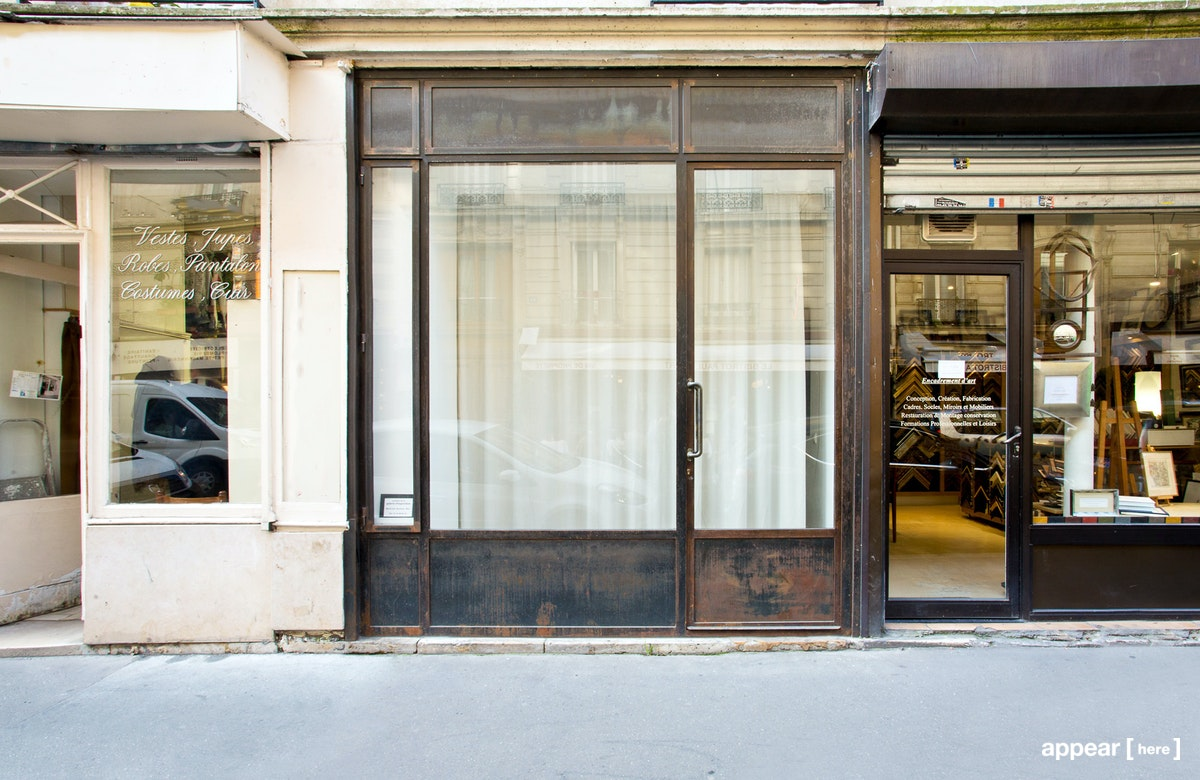 Boutique industrielle-chic - Charonne