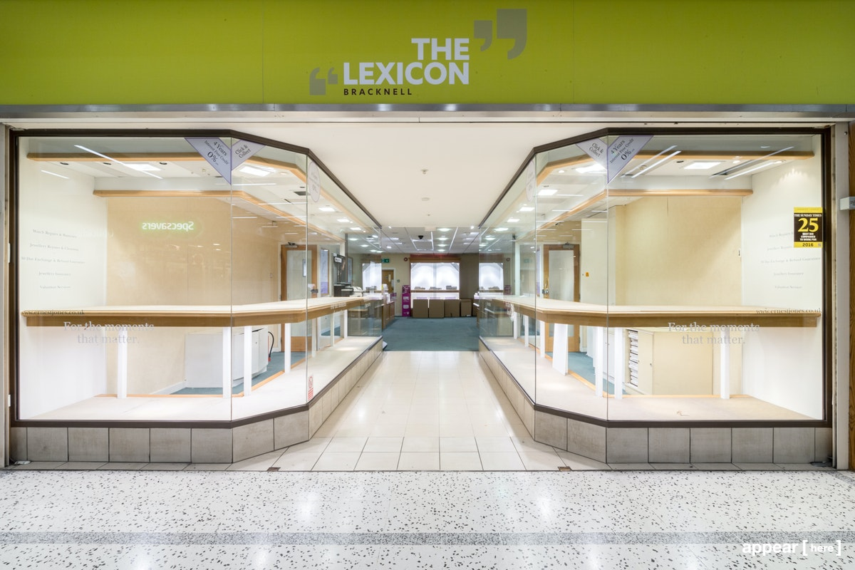 Bracknell's Lexicon Shopping Centre - Jewellers