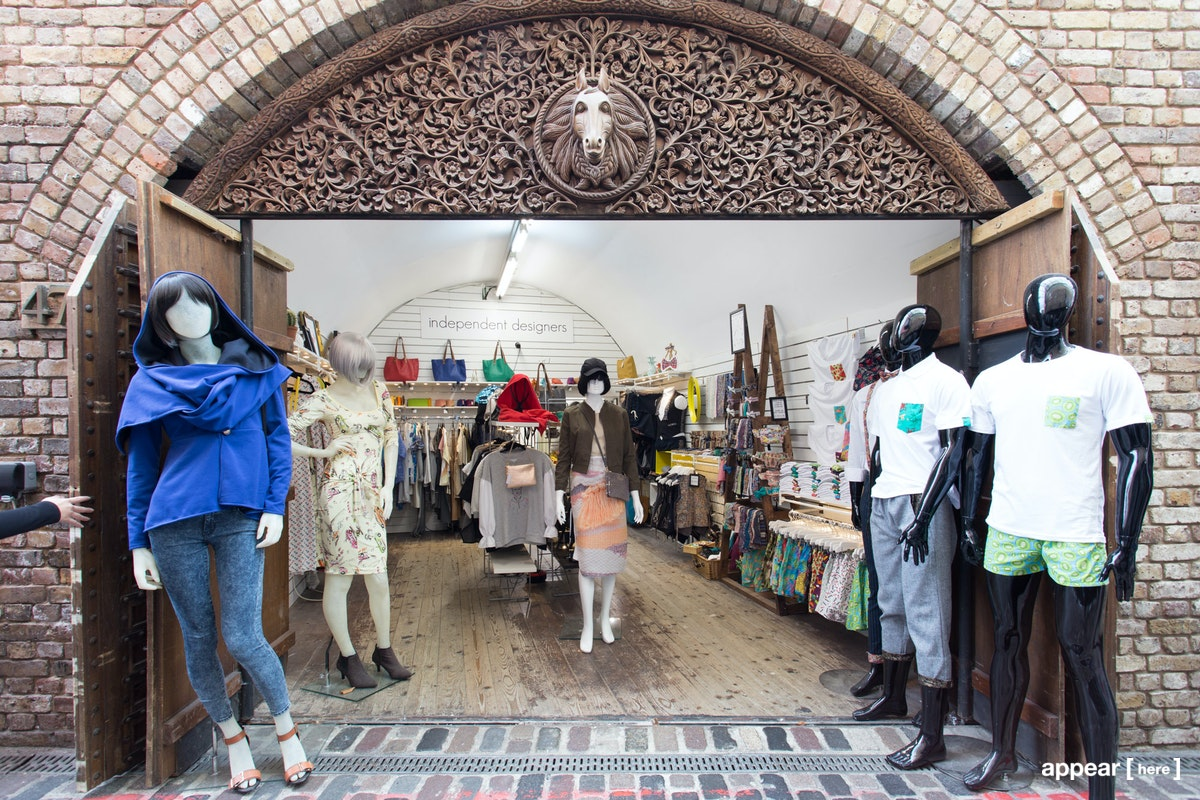 Stables Market, Camden – Independent Designer Shelf Space