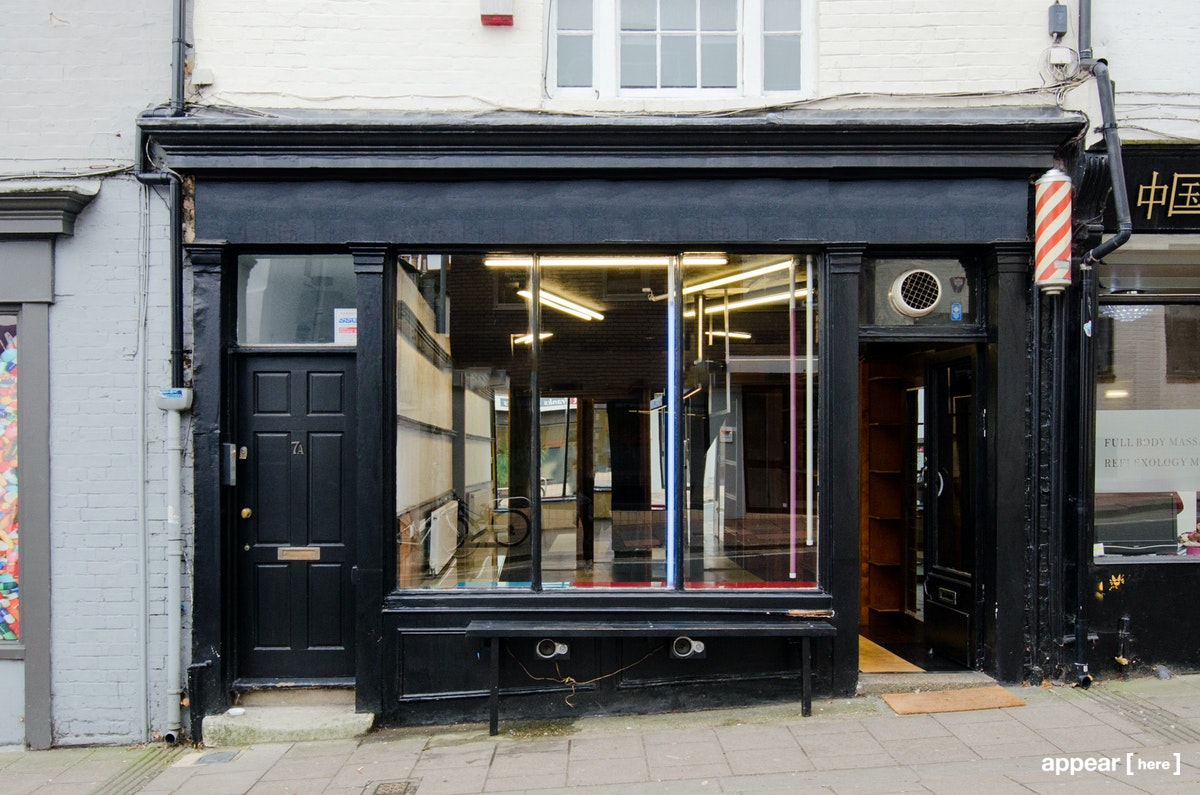 Church Street, Brighton - Black Fronted Store