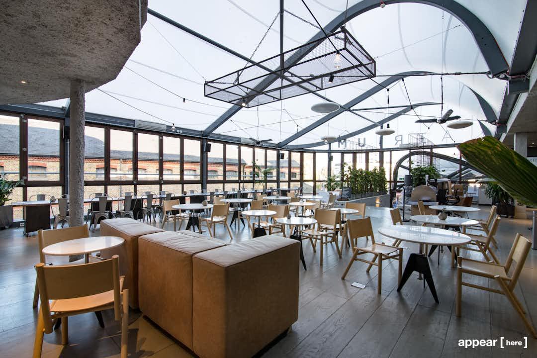 Tom Dixon-designed Event Space, Camden Stables Market Atrium Kitchen