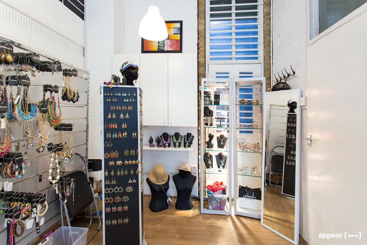 Urbiana, Brick Lane – Shelf Space, Back of Store