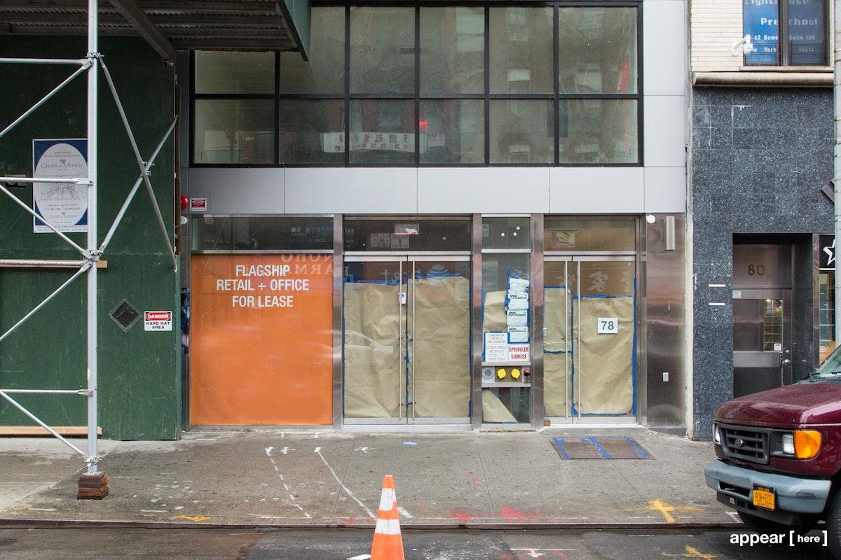 78 Bowery , NY, New York